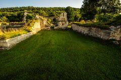Monastery ruins Stock Photos