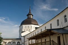 Monastery in Russia. The ancient monastery in Russia Royalty Free Stock Image