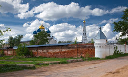 Monastery in Russia Stock Photo
