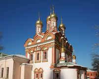 Monastery Russia Royalty Free Stock Photo