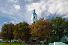 Monastery in Russia Stock Photography