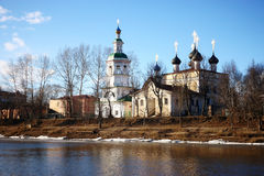 Monastery Russia Vologda Ferapontovo Royalty Free Stock Photos