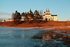 Monastery Russia Vologda Ferapontovo Stock Photo