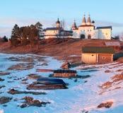 Monastery Russia Vologda Ferapontovo Royalty Free Stock Photo