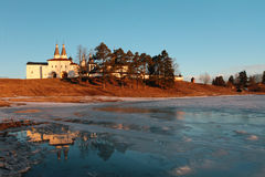Monastery Russia Vologda Ferapontovo Royalty Free Stock Image