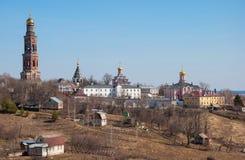 Monastery in Ryazan Stock Photography