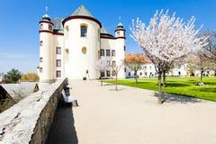 Monastery's garden in Litomysl Stock Photo