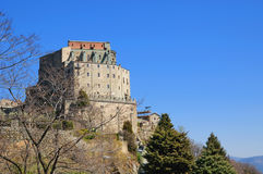 Monastery Sacra di San Michele Royalty Free Stock Photography