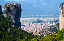 Monastery Sacred Trinity, Meteora, Greece Royalty Free Stock Images