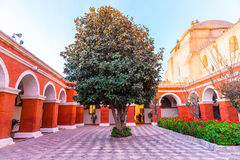 Monastery of Saint Catherine in Arequipa, Peru.(Spanish: Santa Catalina) Royalty Free Stock Photography