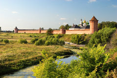 Monastery of Saint Euthymius (Suzdal) Royalty Free Stock Images