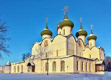 Monastery of Saint Euthymius, Suzdal, Russia Royalty Free Stock Images