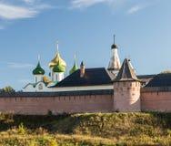 Monastery of Saint Euthymius in Suzdal Royalty Free Stock Photos