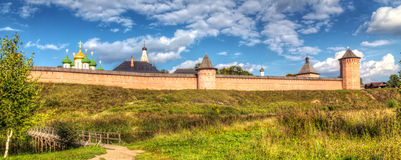 Monastery of Saint Euthymius. Suzdal, Russia Stock Photos