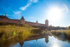 Monastery of Saint Euthymius Wall Suzdal, Russia Stock Image
