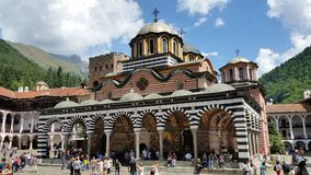 The Monastery of Saint Ivan of Rila Stock Image