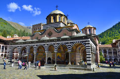 The Monastery of Saint Ivan of Rila Royalty Free Stock Photos