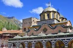 The Monastery of Saint Ivan of Rila Stock Photography