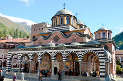 Monastery of Saint Ivan of Rila Stock Photo