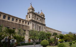 Monastery Of Saint Lucia In Adrano, Sicily Stock Images