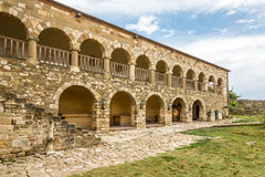 Monastery of Saint Mary in Apollonia. Stock Image