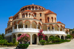 Monastery of Saint Nectarios Royalty Free Stock Photos