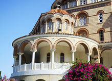 The Monastery of Saint Nectarios Greece Royalty Free Stock Images