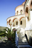 the Monastery of Saint Nectarios Greece Royalty Free Stock Photography