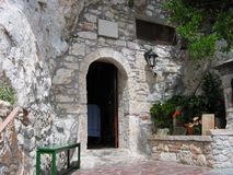 The monastery of Saint Patapios Loutraki Greece. Europe royalty free stock image