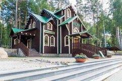 The monastery of the Saint Regal Martyrs in Ganina Yama tract, Russia, Ekaterinburg, stock image