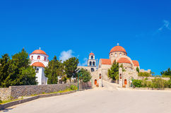 Monastery of Saint Savva, Pothia, Kalymnos, Greece stock photography