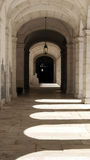 Monastery of Saint Vincent cloister, Lisbon, Portugal Royalty Free Stock Image