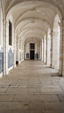 Monastery of Saint Vincent cloister, Lisbon, Portugal Stock Images