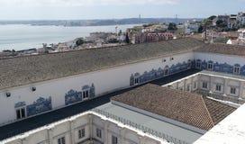 Monastery of Saint Vincent, Lisbon, Portugal Stock Images