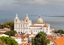 The Monastery of Saint Vincent Outside the Walls. In Lisbon, Portugal Royalty Free Stock Photography
