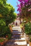 The monastery Kremaston, Crete, Greece. Monastery of Saints Michael and Gabriel - Kremaston Kremasti, Kremasta Crete, Greece. The monastery Kremaston was founded royalty free stock photos