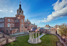 Monastery in Samara, Russia Stock Image