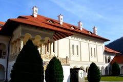 Monastery Sambata, Fagaras. Monastery Sambata is a Romanian Orthodox monastery in Sâmbăta de Sus, Brașov County, in the Transylvania region of Romania stock photo