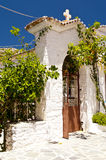 Monastery on Samos Royalty Free Stock Image