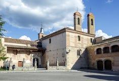 Monastery of San Antonio El Real in Segovia Stock Photo