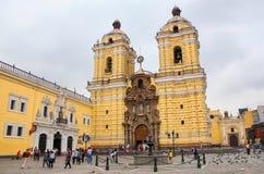Monastery of San Francisco in Lima, Peru Stock Image