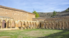 Monastery of San Juan de Duero in Soria,Spain Royalty Free Stock Photography