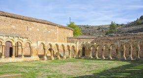 Monastery of San Juan de Duero in Soria,Spain Royalty Free Stock Photography