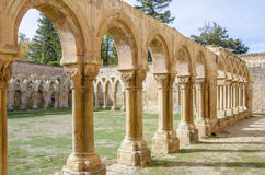 Monastery of San Juan de Duero in Soria,Spain Royalty Free Stock Photos