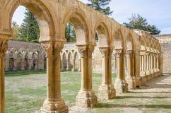 Monastery of San Juan de Duero in Soria,Spain Royalty Free Stock Photos