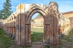 Monastery of San Juan de Duero in Soria,Spain Stock Photos