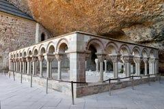 Monastery of San Juan de la Pena Stock Photo