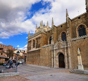 Monastery of San Juan de los Reyes, Toledo Royalty Free Stock Photo