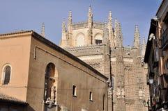 Monastery of San Juan de los Reyes, Toledo, Spain Stock Image