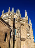 Monastery of San Juan de los Reyes in Toledo. Spain Stock Image